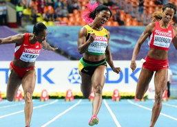 สาวจาเมกาคว้าแชมป์100ม.กรีฑาชิงแชมป์โลก