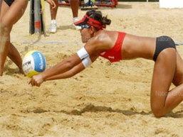 วอลเลย์บอล ตบชายหาดสาว ลั่นมีสิทธิ์ชิงกันเอง