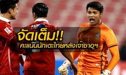 มาแล้ว! คะแนนความสามารถนักเตะไทย หลังไล่เจ๊าซาอุฯสุดมันส์ โดย บ.ส้มซิ่ง