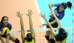 สาวไทยเกินต้านพ่ายบราซิล 0-3 เซต