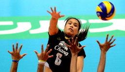วอลเลย์บอลหญิงไทยตบเกาหลีใต้ยับ 3-0 เซต
