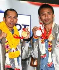 ฮีโร่เหรียญโอลิมปิกกลับถึงไทยแล้ว