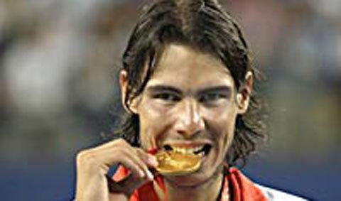 นาดาลซิวทองโอลิมปิกเกมส์
