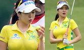 อันชินเอ นักกอล์ฟสาวเกาหลีทรงโต