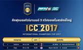 """พีพีทีวี เปิดโผแมตช์  ICC 2017 ขนเกมระดับโลกมาเพียบ """"เอล กลาซิโก้"""" """"ดาร์บี้แมนเชสเตอร์"""""""
