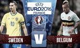 """วิเคราะห์ฟุตบอลยูโร 2016 กลุ่มอี  """"สวีเดน - เบลเยียม"""""""