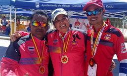 ทัพนักกีฬาผู้เปลี่ยนอวัยวะชาติไทย คว้า 12 ทอง 5 เงิน 13 ทองแดง กีฬาโลกที่สเปน