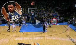 ลงได้ไง?! ชมช็อตมหัศจรรย์ทำแต้มแบบไม่คาดคิดของ NBA