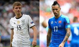"""วิเคราะห์ฟุตบอลยูโร 2016 รอบ 16 ทีมสุดท้าย """"เยอรมัน - สโลวาเกีย"""""""