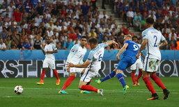 """หมดสภาพ! """"สิงโต"""" พ่าย """"ไอซ์แลนด์"""" 1-2 จอดป้าย 16 ทีม"""