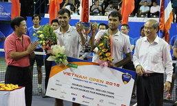 """""""สนฉัตร-สรรค์ชัย"""" ซิวแชมป์ชายคู่เทนนิส เอทีพี ชาเลนเจอร์ ที่เวียดนาม"""