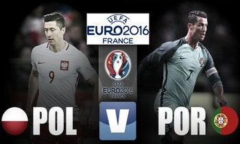 """วิเคราะห์ฟุตบอลยูโร 2016 รอบ 8 ทีมสุดท้าย """"โปแลนด์ - โปรตุเกส"""""""