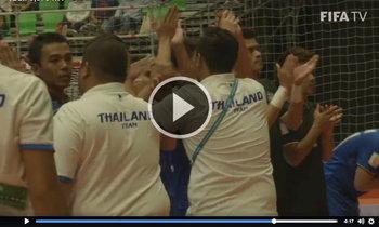โคตรเจ๋ง! ฟี่ฟ่าจัดคลิปให้ทีมชาติไทย หลังทะลุรอบ 16 ทีม เป็นครั้งที่ 2 ในประวัติศาสตร์