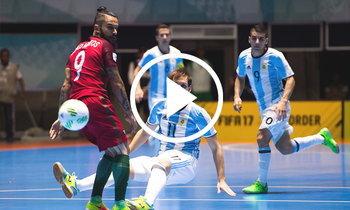 คลิป! อาร์เจนตินา VS. โปรตุเกส ศึกฟุตซอลชิงแชมป์โลก 2016