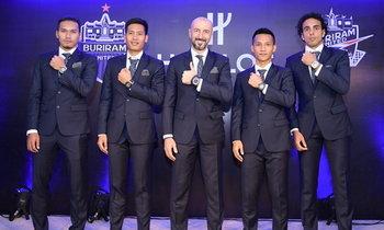 """ทีมแรกในอาเซียน! """"บุรีรัมย์"""" จับมือ """"อูโบลท์"""" เปิดตัวนาฬิกาสุดหรู"""