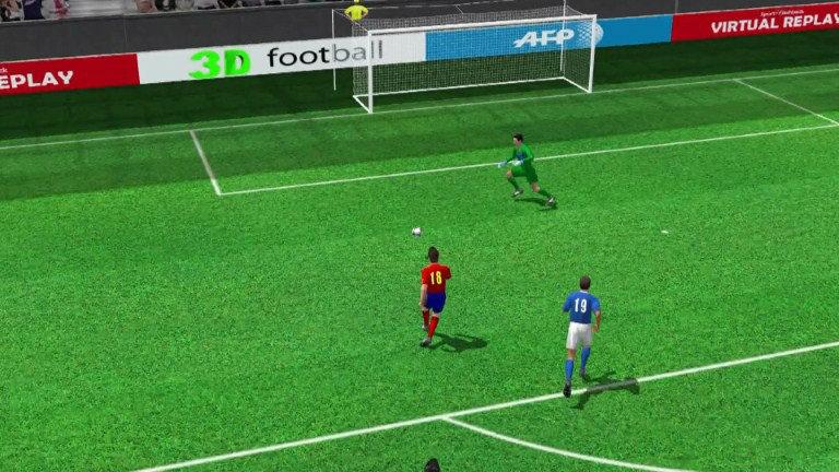 คลิป สเปน ชนะ อิตาลี 4-0 (2/4)