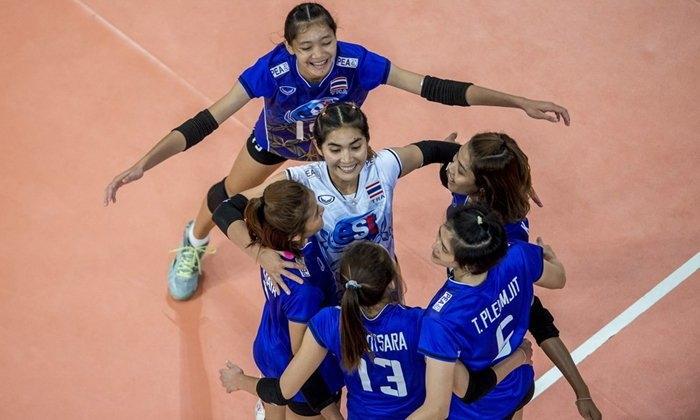 """ตามคาด! """"ลูกยางสาวไทย"""" อัด """"อิหร่าน"""" 3-0 เปิดหัวคัดเลือกชิงแชมป์โลก"""
