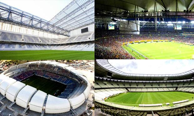 12 สังเวียนแข้งฟุตบอลโลก 2014