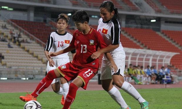 สาวไทยยู19เฉือนเหงียน2-1 ขึ้นแท่นรอชิงฯแชมป์อาเซียน