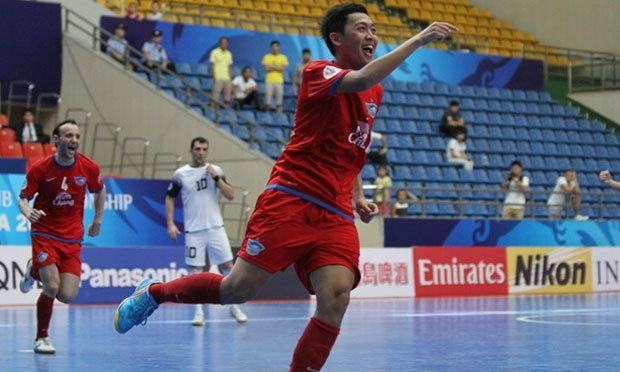 ชลบุรี บลูเวฟ คว่ำแชมป์อิหร่านเข้าที่1กลุ่มบี