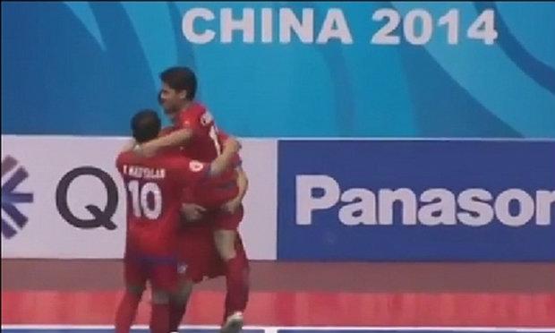ไฮไลต์ฟุตซอลชิงแชมป์เอเชีย2014รอบแรกของชลบุรี บลูเวฟ