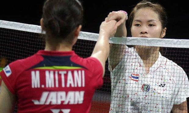 เผยเบื้องหลังสาวญี่ปุ่นตบน้องเมย์ร่วงแบดชิงแชมป์โลก2014