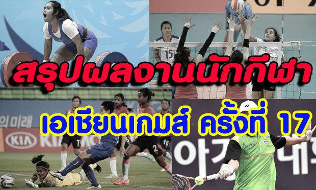 สรุปผลงานนักกีฬาไทย เมื่อวาน