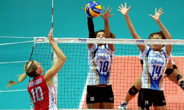 สู้ได้ใจ! วอลเลย์สาวไทยตบพ่ายสหรัฐฯ ยังมีลุ้นเข้ารอบ 2 ชิงแชมป์โลก