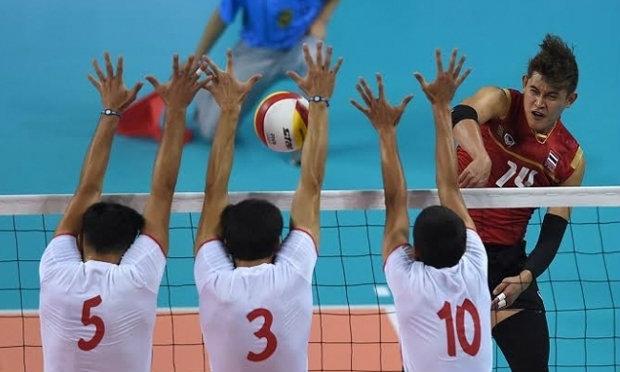 วอลเลย์ชายไทยสุดต้านเจ้าภาพ พ่าย 1-3 เซ็ท