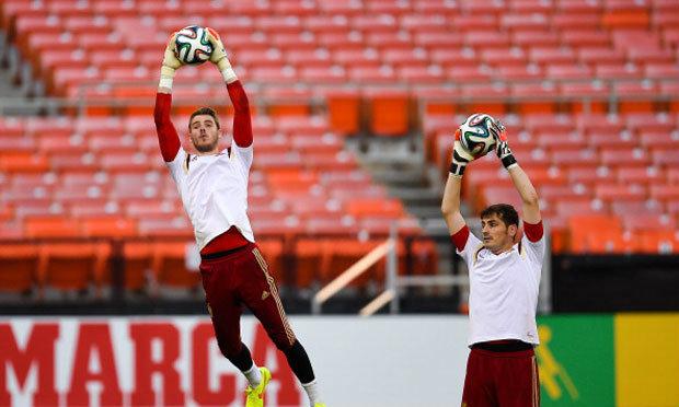 สื่อมาร์ก้าเผยแฟนฟุตบอลโหวตเดเคอาเป็นมือ 1 สเปนแทนกาซิยาส