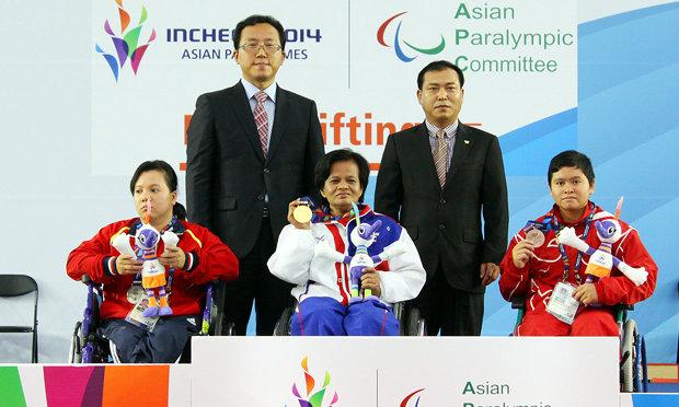 ทัพพาราเกมส์ไทย เก็บอีก 4 ทอง เอเชี่ยนพาราเกมส์ 2014