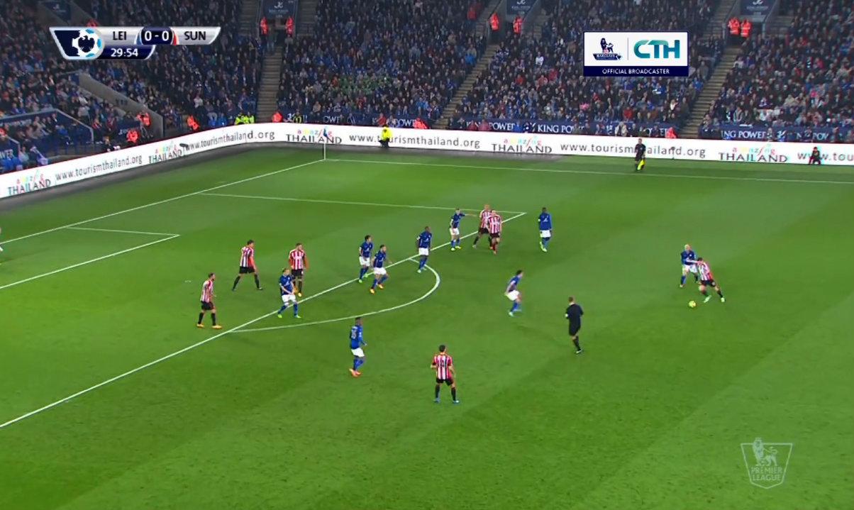 คลิปไฮไลท์พรีเมียร์ลีก เลสเตอร์ 0-0 ซันเดอร์แลนด์