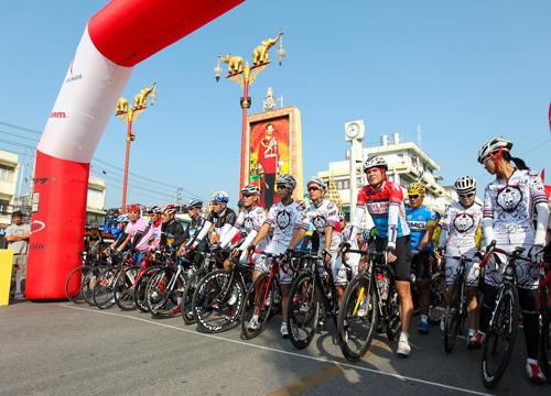 รัฐจับมือเอกชนจัดแข่งจักรยานทางเรียบการกุศล