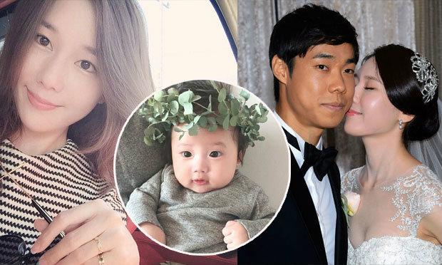 """ลูกเมียสุดน่ารัก! ครอบครัว """"โก ซุล-กิ"""" กองกลางตัวเก่งปราสาทสายฟ้า"""