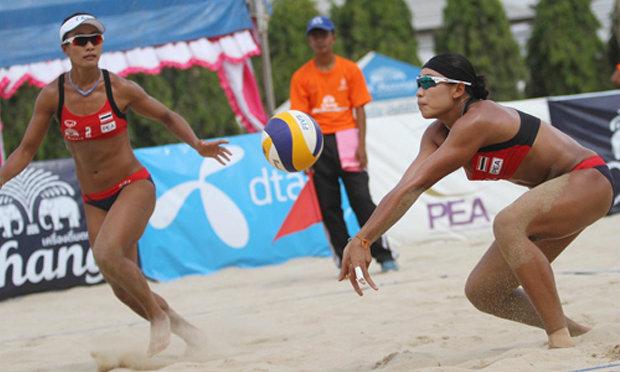 ตบสาวไทยพ่ายออสเตรเลีย0-2เซตได้ที่4ชายหาดอช.ทัวร์