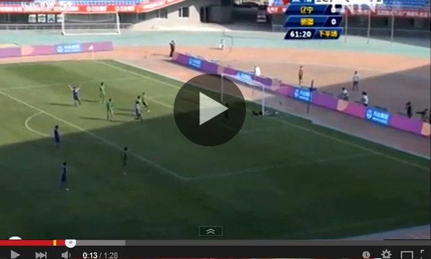 เงิบกว่านี้ไม่มีแล้ว! ทีมจีนเตะแป้ก 3 ครั้งซ้อน บอลเข้าประตูตัวเองเฉย (ชมคลิป)