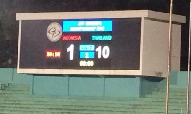 ฟุตบอลหญิงไทย ถล่มอินโดนีเซีย 10-1 ศึกชิงแชมป์อาเซียน นัดที่ 2