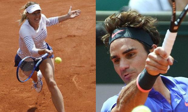 มาเรีย′ควง′เฟด′ฟาดชัยรอบ 2 เทนนิสแลม′เฟร้นช์ โอเพ่น′
