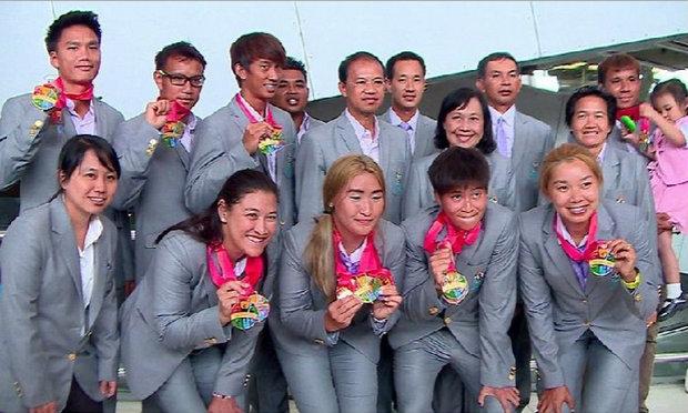 """วริศ""""นำทัพเทนนิสถึงไทย หลังสร้างผลงานทะลุเป้าศึกซีเกมส์"""