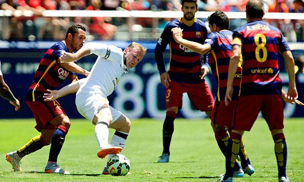ผีแดงฟอร์มแจ่ม อัดบาร์ซ่า 3-1 คว้าชัย 3 นัดรวด ฟุตบอลอินเตอร์ฯ (คลิป+ภาพ)