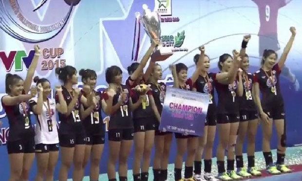 """สุดยอด! """"ตบสาวไทย U23"""" ลบคำปรามาสโค่นทีมจาก """"จีน"""" ซิวแชมป์ """"วีทีวี คัพ"""" (คลิปเต็มแมตช์)"""
