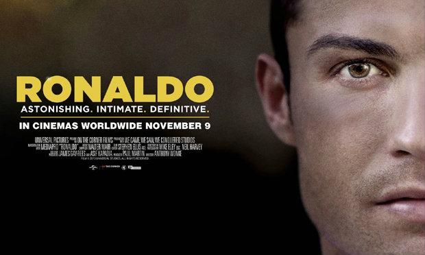 """""""โรนัลโด้"""" ปล่อยตัวอย่างหนังชีวิต เอาใจแฟนบอล เตรียมฉาย 9 พ.ย.นี้ (คลิป)"""