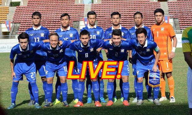 รายงานสด ทีมชาติไทย V ทีมชาติเกาหลีใต้