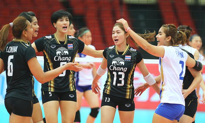 """ตบสาวไทยงานเบา! """"จีน-โสม-ยุ่น"""" ชนกันเอง """"เอวีซีคัพ 2016"""""""