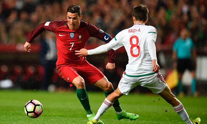 """โด้กดสอง! """"โปรตุเกส"""" รัวถล่ม """"ฮังการี"""" 3-0 รั้งรองกลุ่ม"""