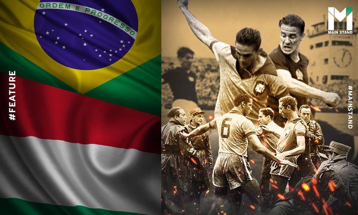 """แมตช์อัปยศ : """"สงครามกรุงเบิร์น"""" เกมฟุตบอลโลกที่เดือดตั้งแต่ในสนามถึงห้องแต่งตัว"""