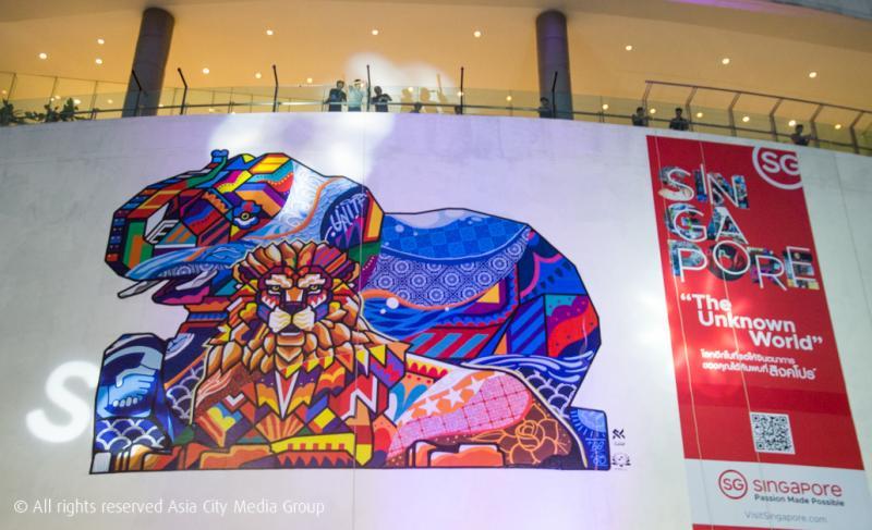 The Unknown World นิทรรศการศิลปะที่จะยกทั้งสิงคโปร์มาไว้กลางกรุงเทพฯ