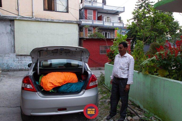 3คน สัมภาระเต็มรถแท็กซี่พอดี