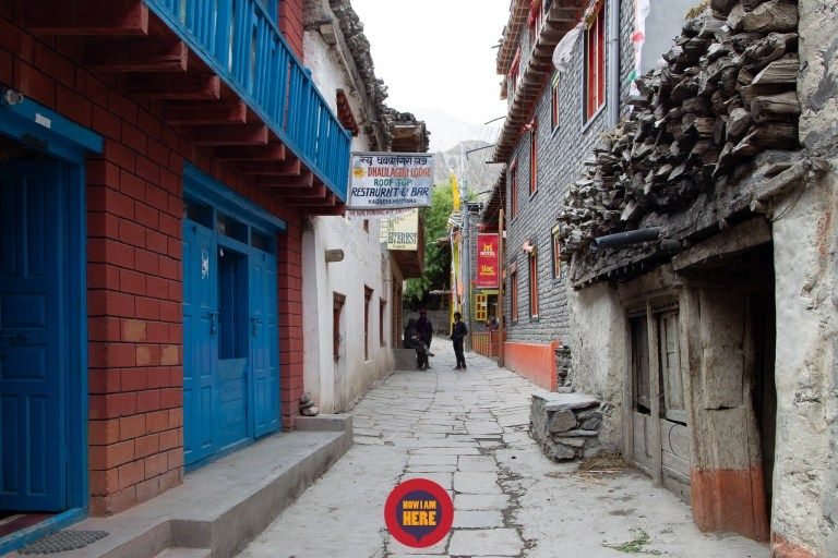 หมู่บ้าน Kagbeni