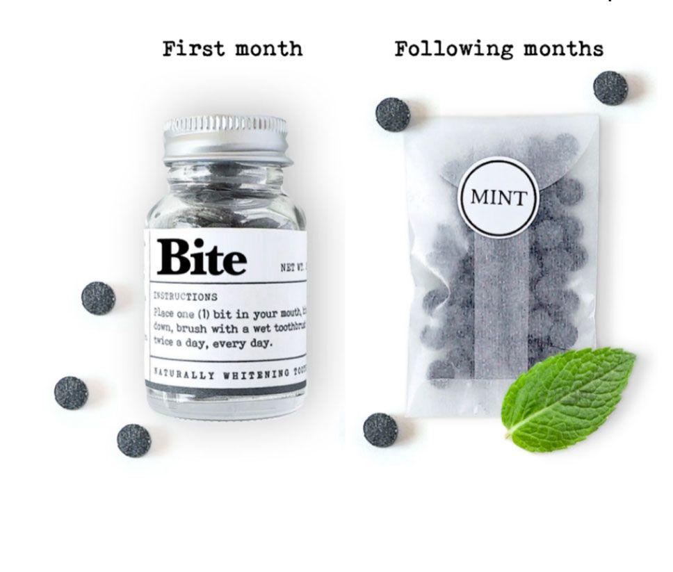ยาสีฟันแบบขวด 1 ขวด สำหรับใช้ 1 เดือน และแบบรีฟิว